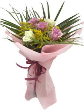 Букет от 5 мини рози