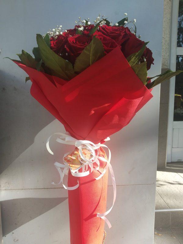 Букет от 39 червени рози