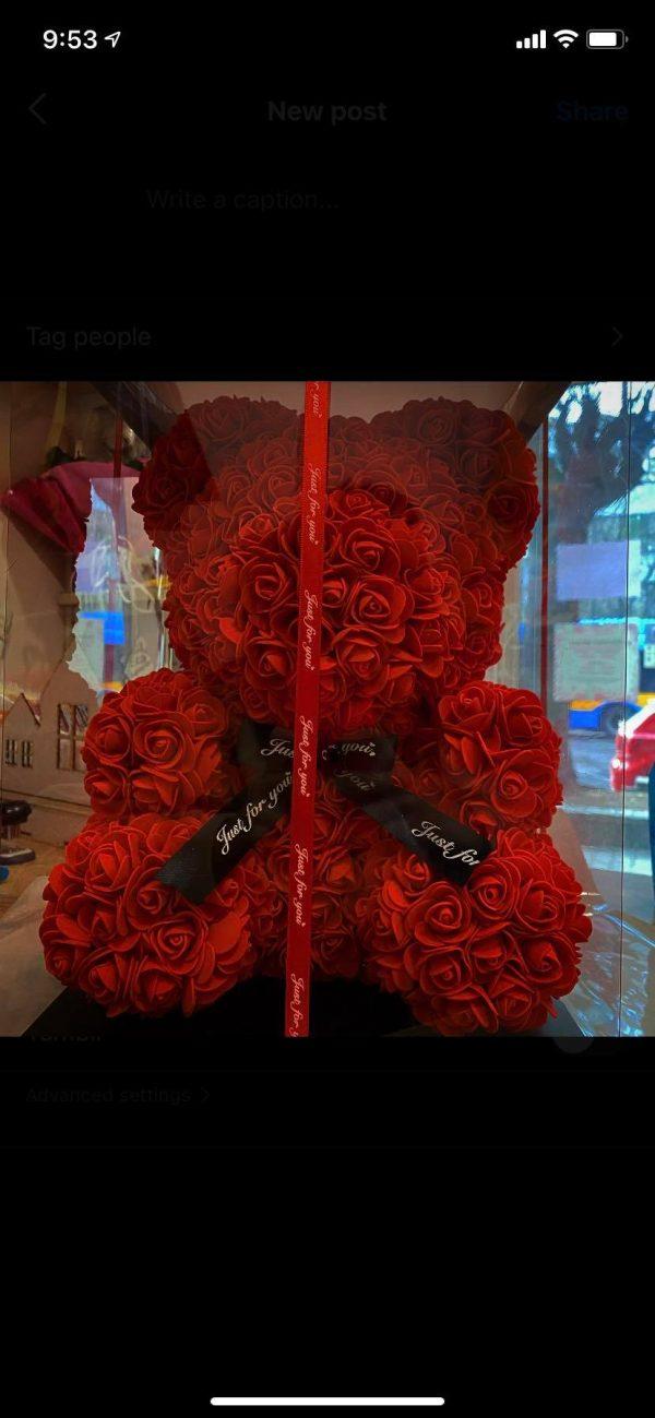 Мече от Червени Рози